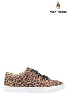 Hush Puppies Leopard Tessa Lace Shoes