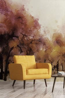 Eighty Two Autumnal Trees Wall Mural