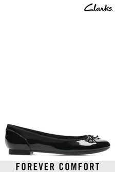 Clarks Black Patent Couture Bloom Shoes
