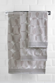 Pebble Jacquard Towel