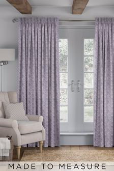 Bronte Mulberry Purple Made To Measure Curtains