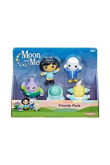 Moon And Me Friends Pack Of 5 Figures
