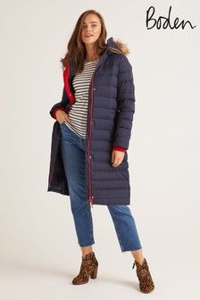 Boden Blue Cavell Padded Coat