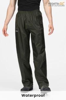 Regatta Green Stormbreak Waterproof Overtrousers