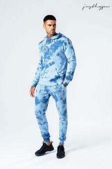 Hype. Mens Blue Tie Dye Joggers