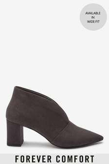 Forever Comfort® Low Block Shoe Boots