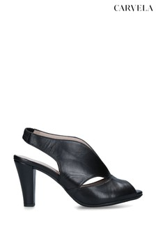 Carvela Black Arabella Heeled Sandals