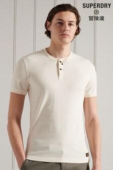 Superdry Short Sleeve Henley T-Shirt