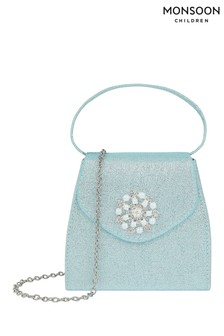 Monsoon Children Blue Princess Snowflake Bag