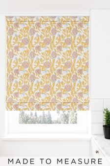 Pablo Ochre Yellow Made To Measure Roman Blind