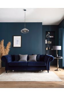 Charcoal Grey Antique Effect Oriental Rug