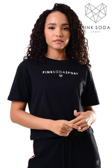 Pink Soda Fuller Crop T-Shirt