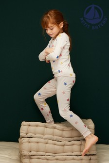 Petit Bateau Pink Star Pyjamas