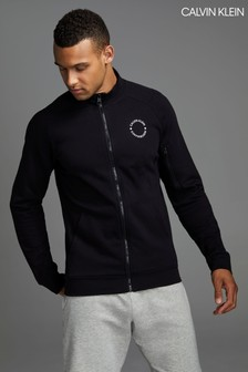 Calvin Klein Black Performance Full Zip Track Jacket