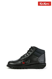 Kickers® Black Hi Flex Boots