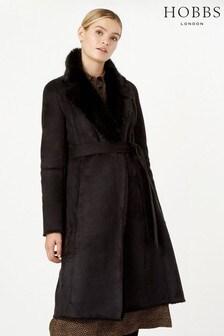 Hobbs Black Viola Coat