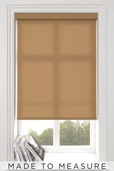 Asher Toffee Brown Made To Measure Roller Blind