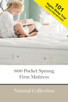 800 Pocket Sprung Natural Firm Mattress