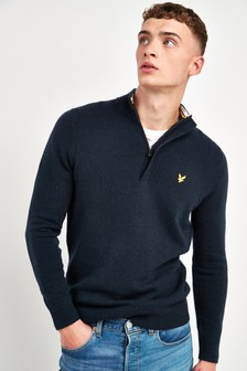 Lyle & Scott 1/4 Zip Jumper