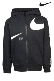 Nike Little Kids Swoosh Zip Through Hoodie
