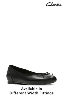 Clarks Black Couture Bloom Shoes