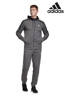 adidas Grey Team Sport Tracksuit
