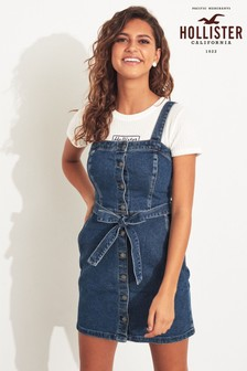 Hollister Blue Denim Dress