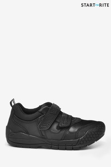 Start-Rite Strike Black Leather Shoes
