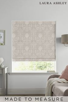 Laura Ashley Josette Dove Grey Made to Measure Roman Blind
