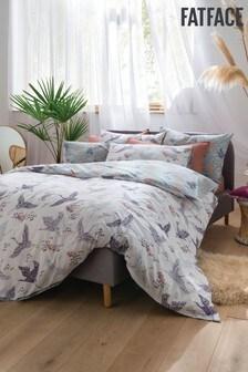 FatFace Floral Flight Cotton Duvet Cover and Pillowcase Set