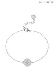 Mint Velvet Silver Tone Celestial Bracelet