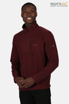 Regatta Purple Elgrid Half Zip Fleece