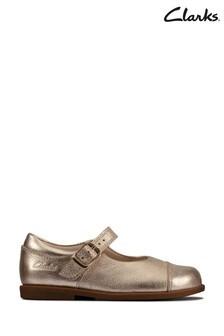 Clarks Gold Drew Sun T Shoes