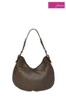 Joules Aldbury Carriage Leather Hobo Bag