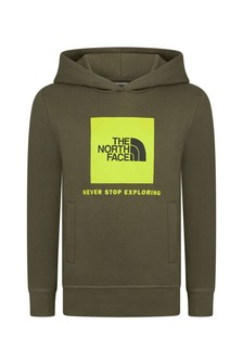 The North Face Khaki Cotton Hoodie
