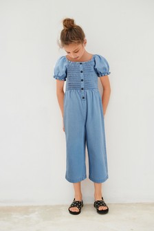 Shirred Jumpsuit (3-16yrs)