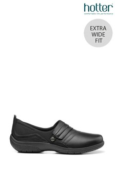 Hotter Candy Extra Wide Fit Slip-On/Button Casual Shoes
