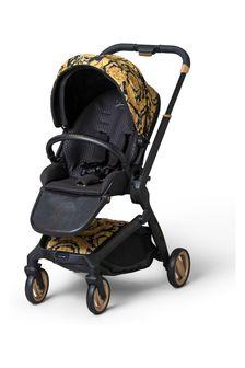 Versace Kids Black Stroller