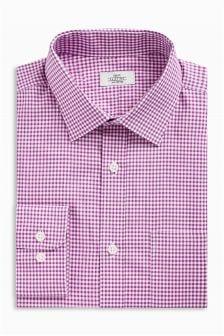 Chemise coupe droite avec poche