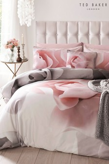 Ted Baker Porcelain Rose Cotton Duvet Cover