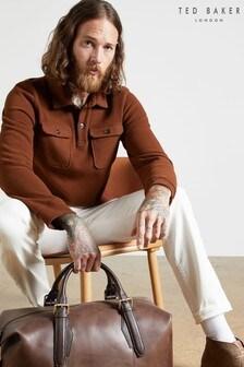 Ted Baker Footage Long Sleeve Poloshirt