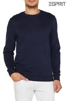 Esprit Navy Crew Neck Sweatshirt