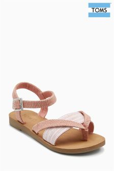 Toms Bloom Jote Lexie Metallic-Sandalen
