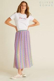 15cdd136ab Buy Women's skirts Midi Midi Skirts Oliverbonas Oliverbonas from the ...