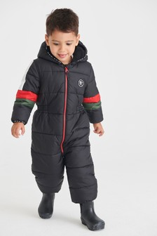 Colourblock Snowsuit (3mths-7yrs)