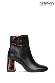 Geox Women's Seyla Black Boots