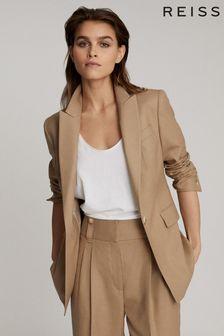 Reiss Esther Wool Blend Tailored Blazer
