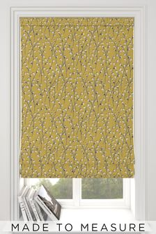 Bijou Sunflower Gold Made To Measure Roman Blind