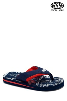 Animal Blue Jekyl Logo Sandals