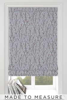 Bijou Rose Natural Made To Measure Roman Blind